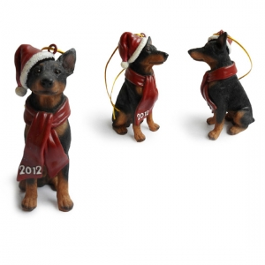 Westie  Christmas Tree Ornaments