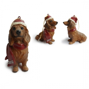 Dachshund Christmas Tree Ornaments