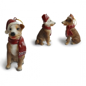 Pitbull Christmas Tree Ornaments