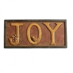 JOY Wall Sign decoration