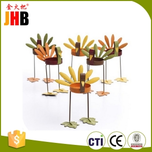 Thanksgiving Turkey Sitting Tealight Candle Holder